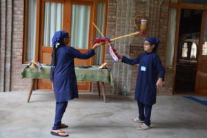Gatka Class at Akal International Youth Camp (2)