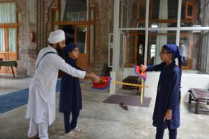Gatka Class at Akal International Youth Camp (4)
