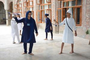 Gatka Class at Akal International Youth Camp (6)