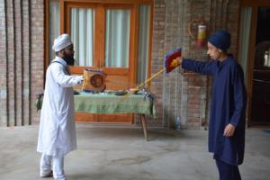 Gatka Class at Akal International Youth Camp (7)