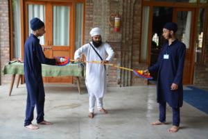 Gatka Class at Akal International Youth Camp (8)